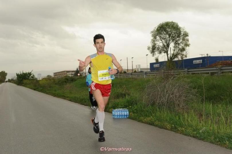 6th stam-half marathon - tsiounis 2