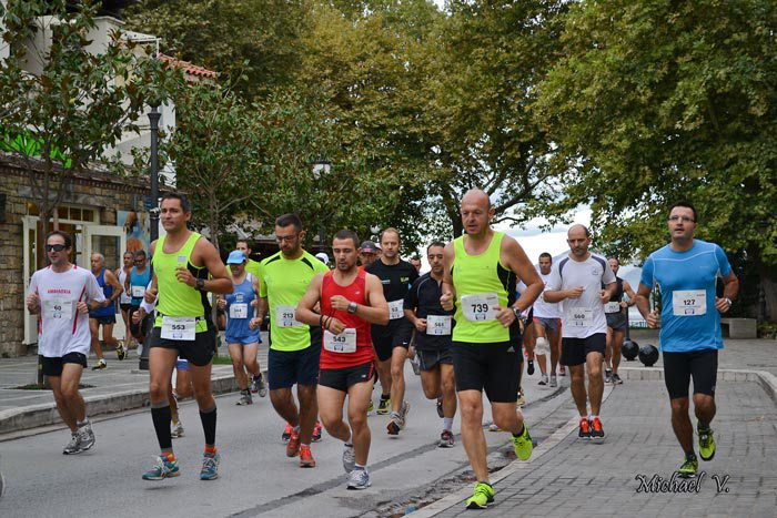 6th ioannina lake run