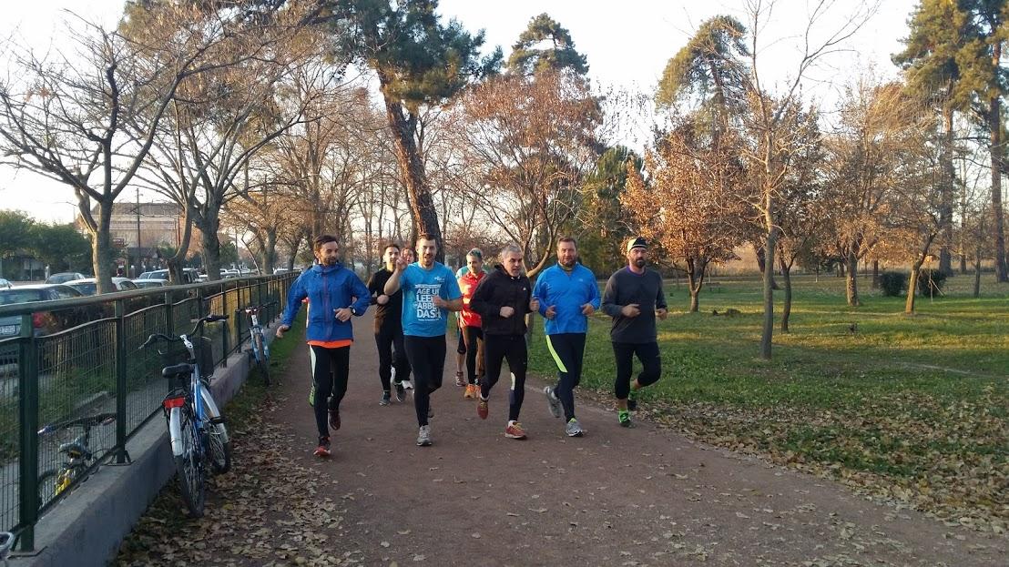 Καλή χρονιά με τρέξιμο από τους Δρομείς Τρικάλων